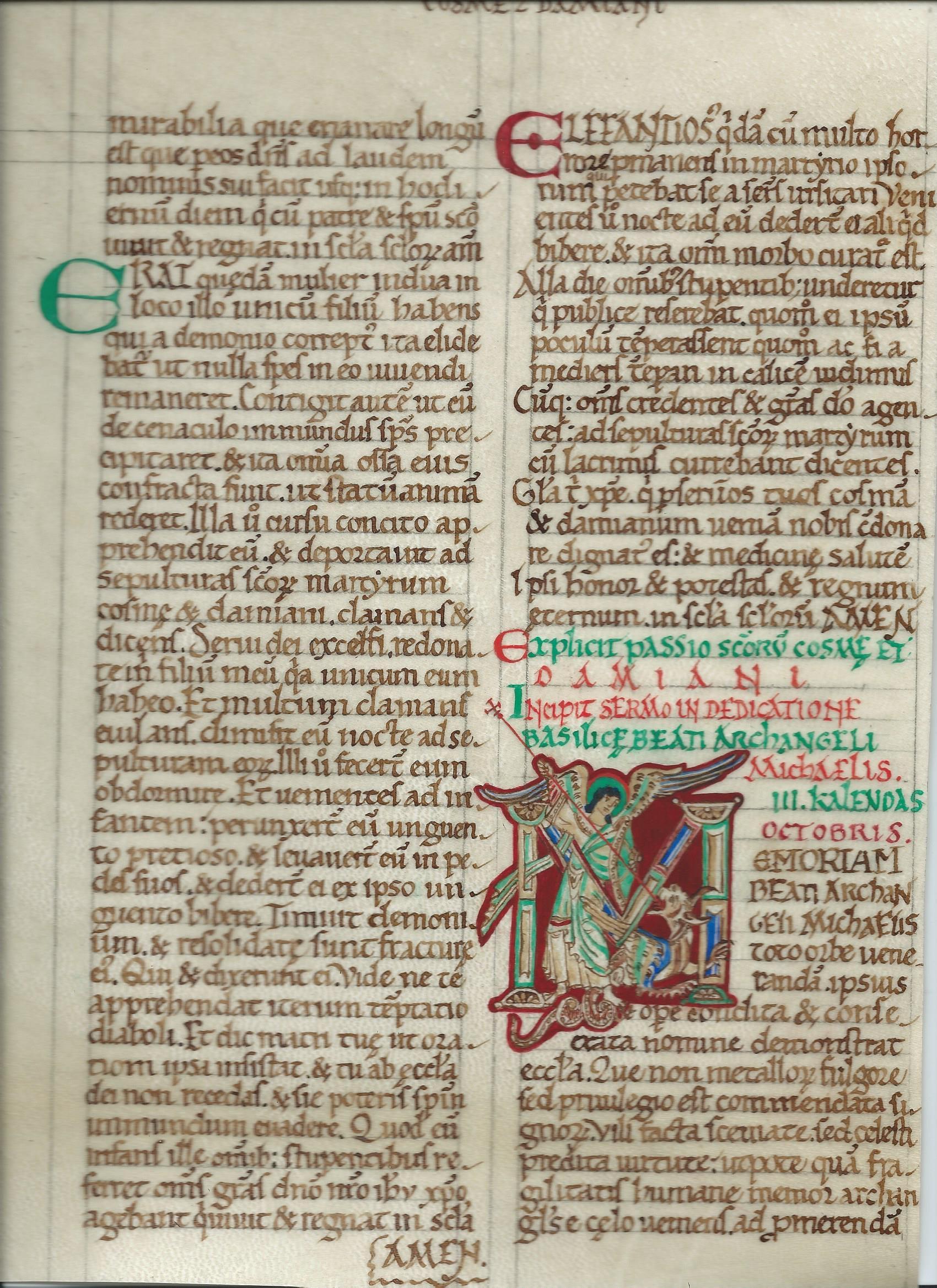 ms arundel 91 f°26v XIIème anglais 2 - Copie et T